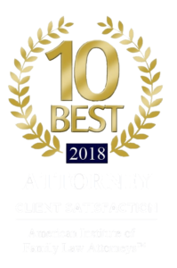 American Institute of Family Law Attorneys 2018 Best Attorney